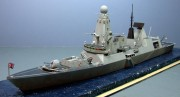 HMS Diamond, Type 45 Destroyer, 1:350
