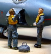 Flying crew, 231 OCU, RAF Bassingbourn, 1960, 1:48