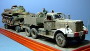 Israeli Diamond T, M9 Trailer and Syrian T-55, 1973, 1:35