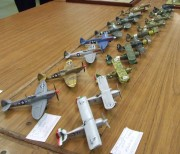 Various Spitfires and Macchis, 1:72