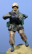 British Solider, Gulf War 1991, 120mm