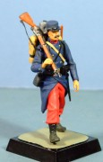 French Infantryman, 1914, 54mm