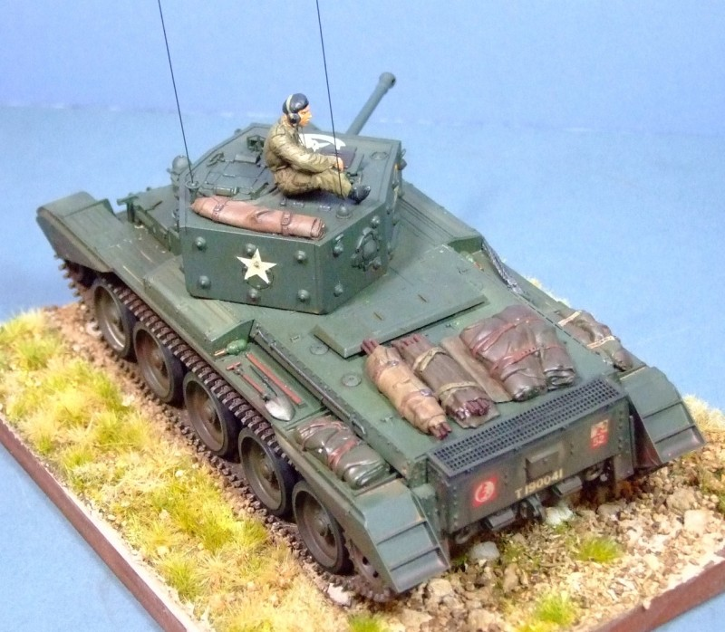 Cromwell IV, 5 RTR, 7th Armoured Div, 1944, 1:35