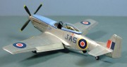 North American Mustang IV, 443 Sqn RCAF, May 1945, 1:72