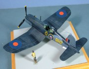 Vought Corsair III, 718 RNAS, Ballyhalbert, Northern Ireland, 1945, 1:72
