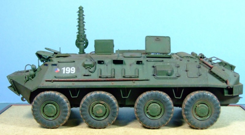 BTR-60PU Air Defence Command Vehicle, Czech Army, 1:35