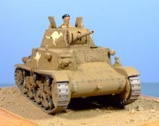 Captured M13/40, Australian 6th Cavalry, Tobruk, 1941, 1:35