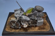 BMW R75 with Steib sidecar, 1st Panzer Div 1941