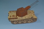 Panther Ausf G with resin Coelian