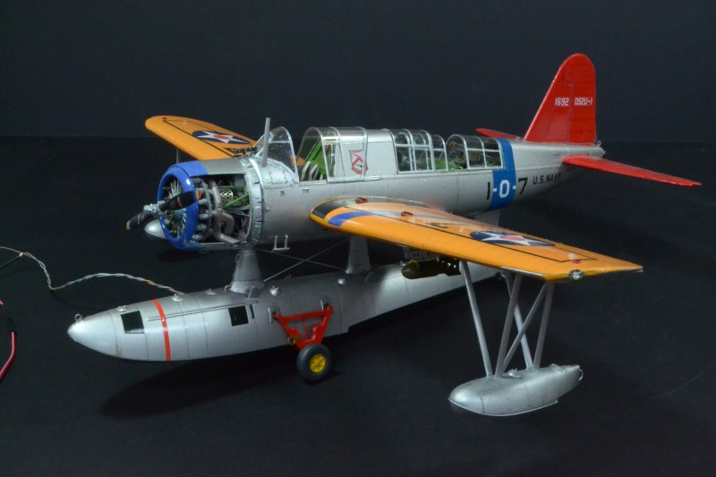 Vought OS2U Kingfisher 1:32