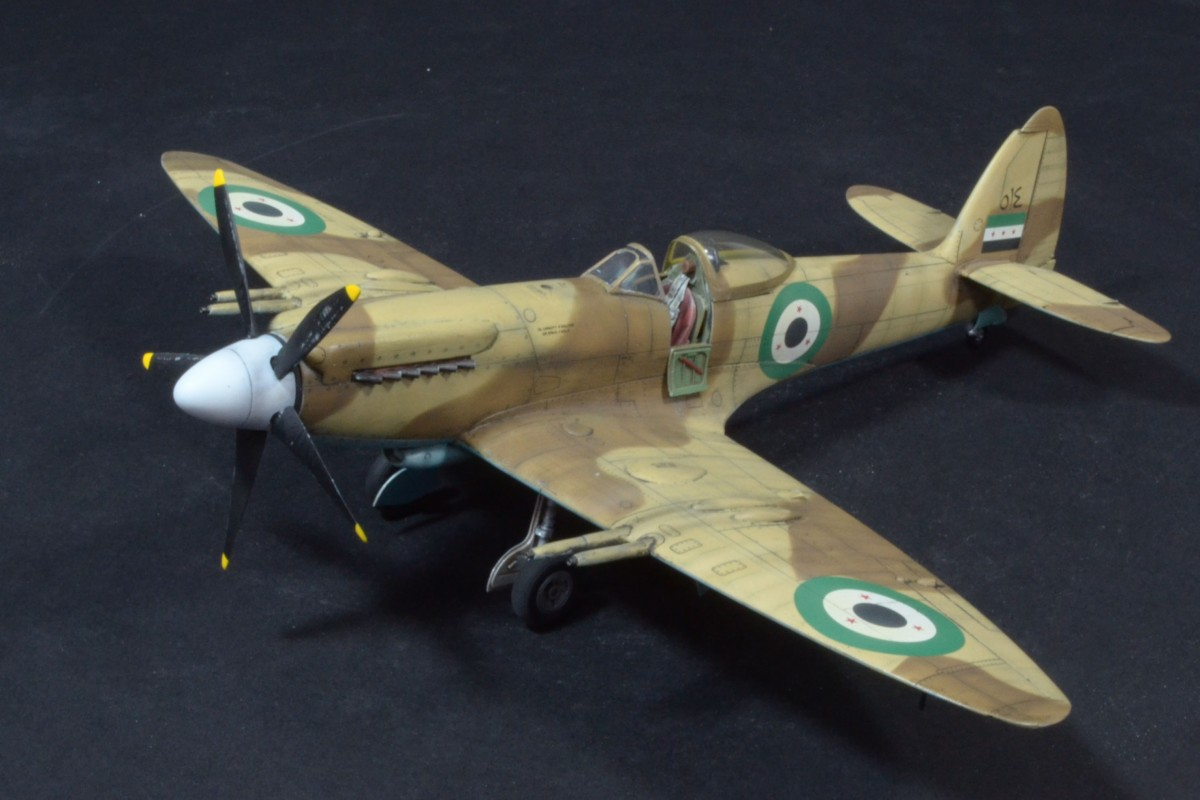 Spitfire Mk 22, Syrian Air Force