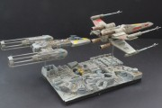 Star Wars @ 40, Finemolds X-Wing and Y-Wing