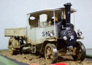 Foden Steam Lorry, Wills Finecast 1:32