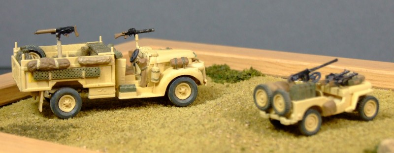 C Troop, New Zealand LRDG, 1:76