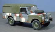Land Rover Series III, Berlin Brigade, British Army, 1:35