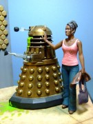 Dr Who, Martha and Dalek