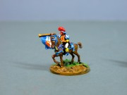 Mounted trumpeter