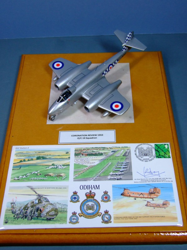 Meteor F8, 19 Sqn O/C, Coronation Review